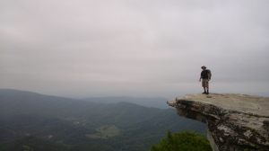 McAfee  Knob, most photographed spot on the A.T.
